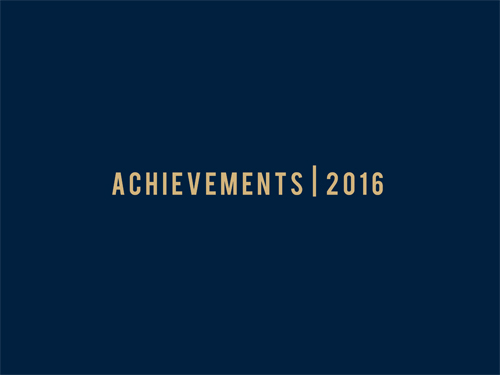 Achievements-2016