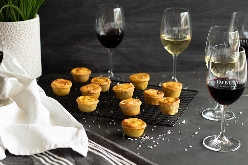 Imbuko wines gourmet pie and wine pairing