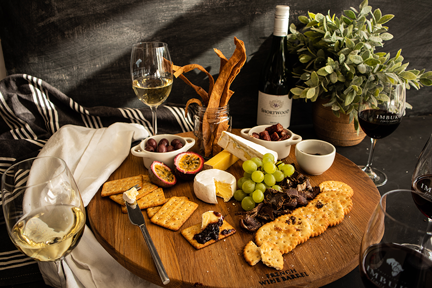 Imbuko wines platter for two